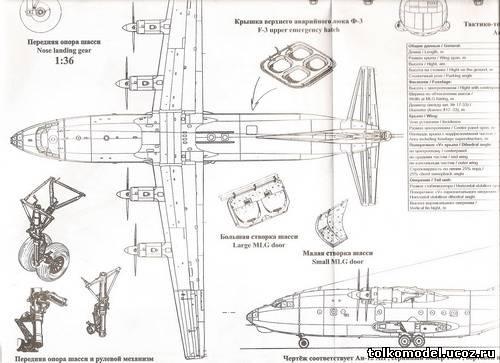 Ан-12 1/72 RODEN - Форум..